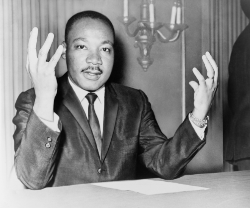 MLK quotes about God